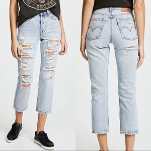 Levi's • NWT Wedgie Fit Straight